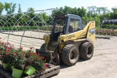 SKID STEER LOADER AT NURSERY