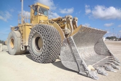 WHEEL LOADER IN STONE QUARRY