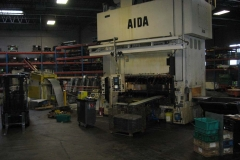 STRAIGHT SIDE PRESS AND FEED EQUIPMENT
